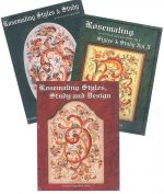 DVD Vol I, II, III Rosemaling Styles and Study Books DVD