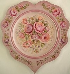 Rose Study Plate Pattern Packet